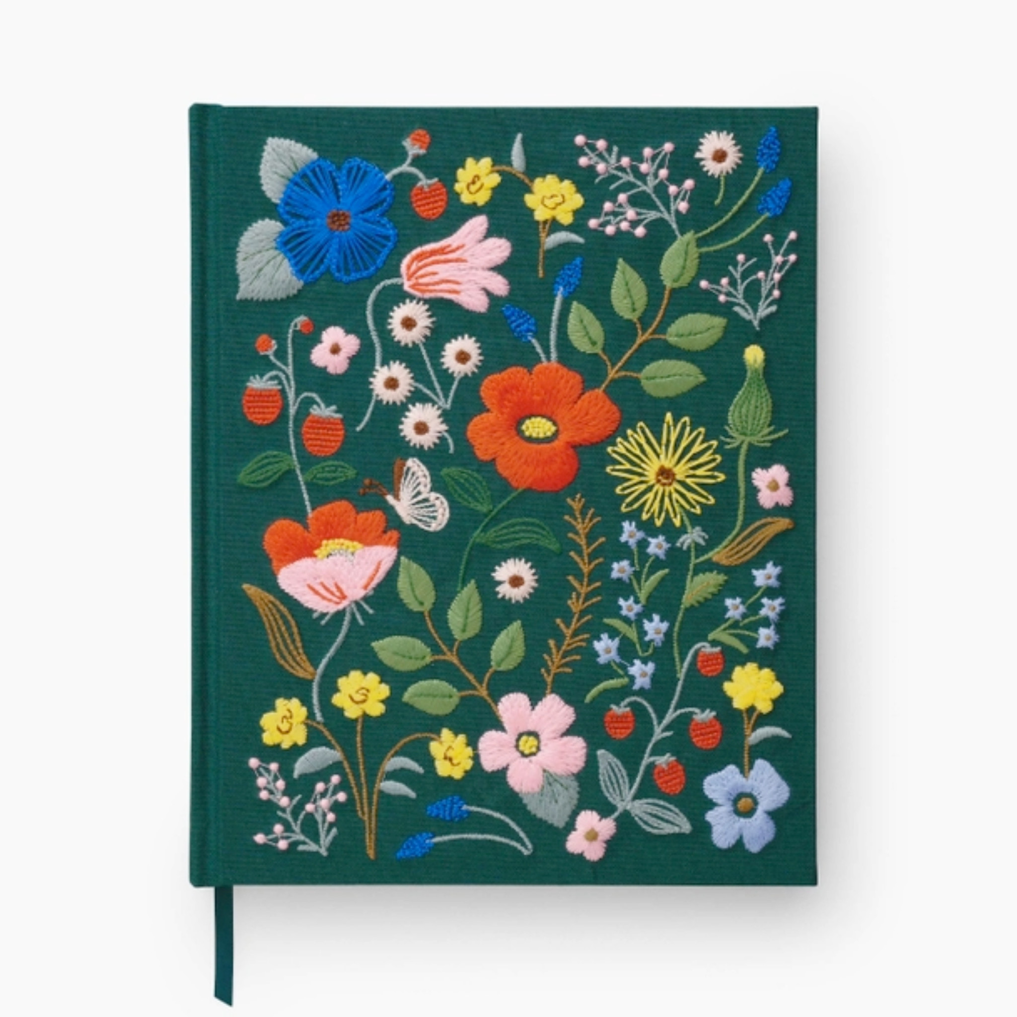 Rifle Paper Co - RP Rifle Paper Co Strawberry Fields Embroidered Sketchbook