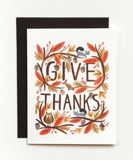 Rifle Paper Co - RP RPGCTH0002 - Thankful Forest