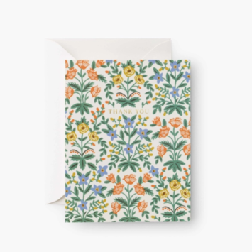 Rifle Paper Co - RP Rifle Paper Co Lottie Thank You Cards, Set of 8