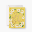 Rifle Paper Co - RP Rifle Paper Co Daisy Baby Card