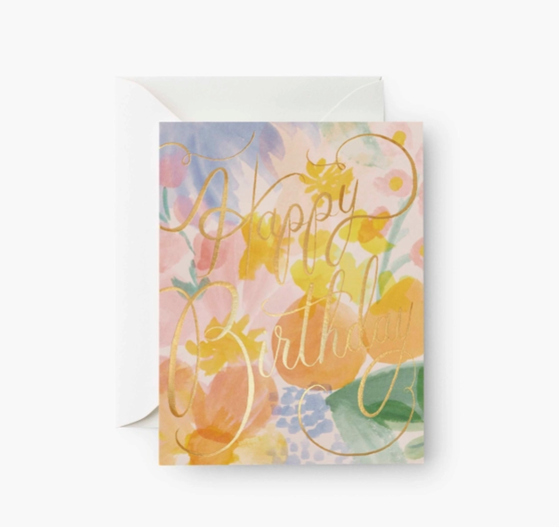 Rifle Paper Co - RP Rifle Paper Co Gemma Birthday Card