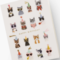 Rifle Paper Co - RP Rifle Paper Co Cool Cats Birthday Card