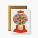 Rifle Paper Co - RP Rifle Paper Co Gumball Birthday Card