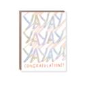 Hello!Lucky - HL Yayayayay Congrats Card