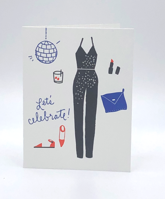 Printerette Press - PRP Lets Celebrate Card
