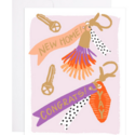 9th Letterpress - 9L New Home Keys Congrats Card