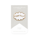 Worthwhile Paper - WOP Softly Enamel Pin