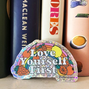 Ash + Chess - AAC AAC ST - Love Yourself First Sticker
