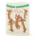 Ilee Papergoods - IP Good Times Roll Dog Dauchaund Birthday Card