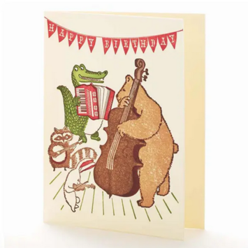 Ilee Papergoods - IP Happy Birthday Band Card