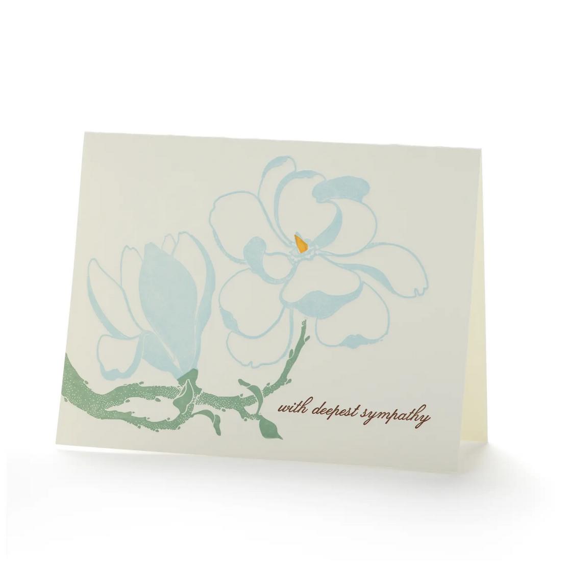 Ilee Papergoods - IP Magnolia Sympathy Card