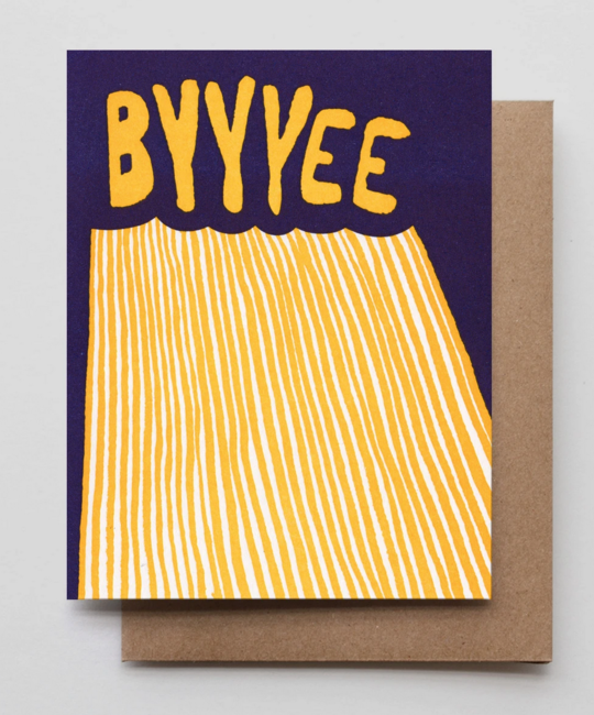 Hammerpress - HA Byyyee Card