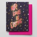 Hammerpress - HA Love is Cosmic Card