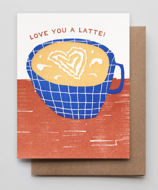 Hammerpress - HA Latte Love Card