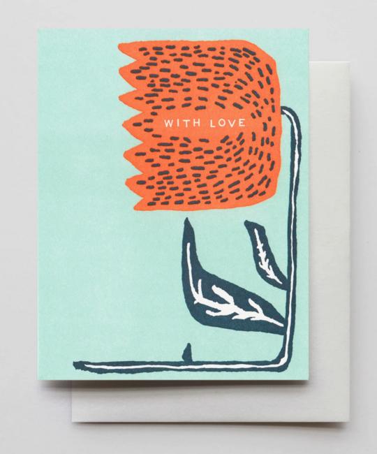 Hammerpress - HA With Love Card