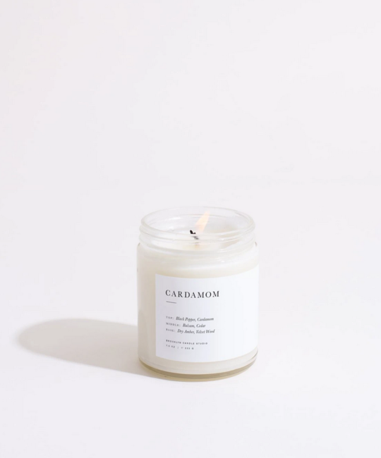 Brooklyn Candle Studio - BCS Brooklyn Candle Cardamom Minimalist Candle