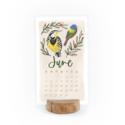 One Canoe Two Letterpress - OC 2022 Bird Desk Stump Calendar Refill