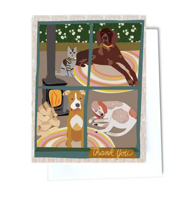 Elizabeth Grubaugh - EG Thank You Pets Card