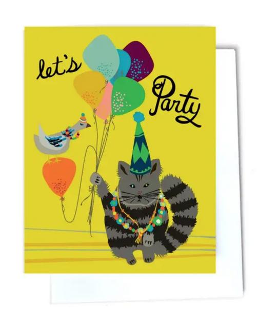 Elizabeth Grubaugh - EG Let's Party Birthday Card