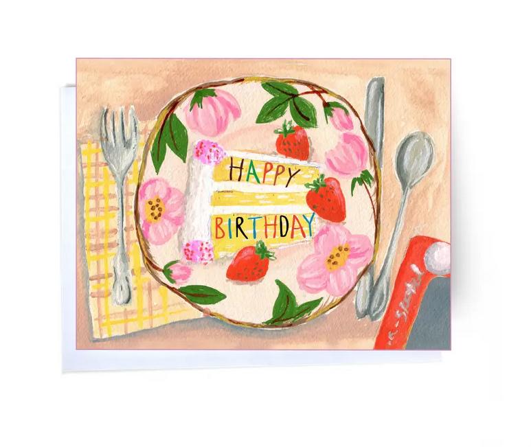 Elizabeth Grubaugh - EG Birthday Cake Card