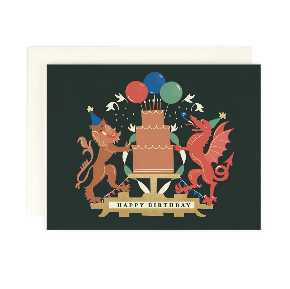 Amy Heitman Illustration - AHI Birthday Crest Card