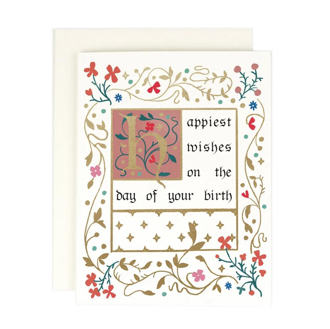 Amy Heitman Illustration - AHI Illuminated Birthday Card