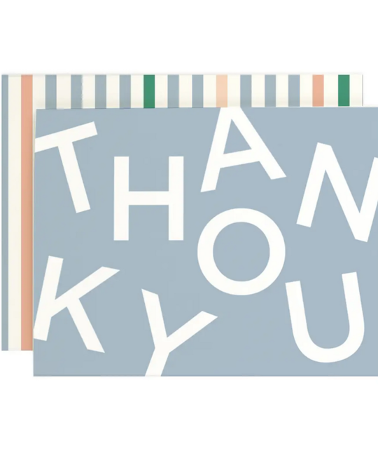 Amy Heitman Illustration - AHI Thank You Random Blue Cards, Set of 8