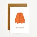 k. Patricia Designs Sweater Weather Card