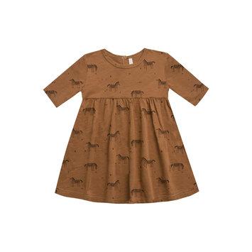 Rylee + Cru - RC RC BA - Wild Horses Fin Dress in Rust 12-18 Months