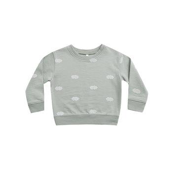 Rylee + Cru - RC RC BA - Clouds Sweatshirt in Blue Fog