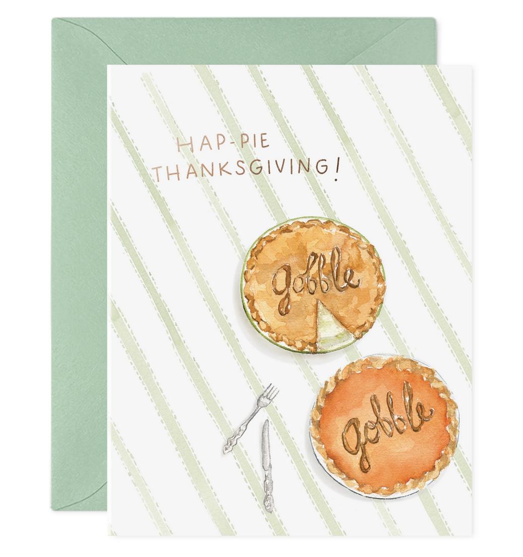 E. Frances Paper Studio - EF Thanksgiving Pie Card