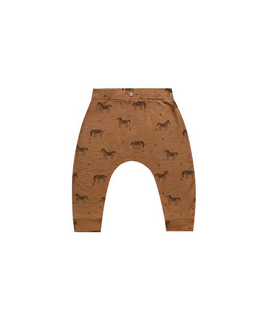 Rylee + Cru - RC RC BA - Wild Horses Slouch Pant in Rust