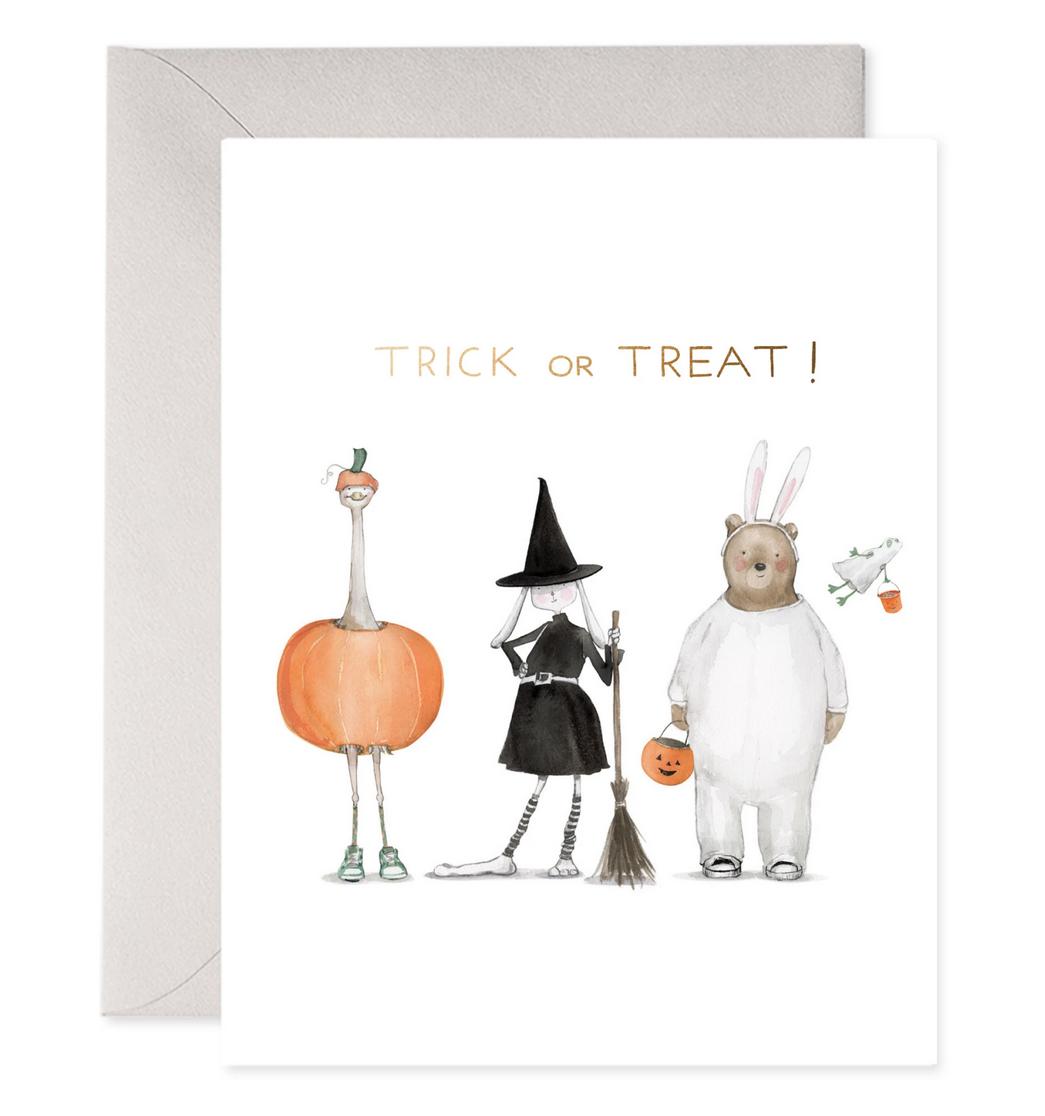 E. Frances Paper Studio - EF Trick Or Treat Squad Halloween Card