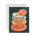 One Canoe Two Letterpress - OC Pumpkin Patch Card