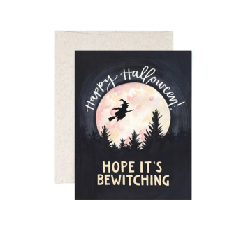 One Canoe Two Letterpress - OC Bewitching Halloween Card