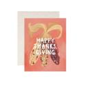 One Canoe Two Letterpress - OC Thanksgiving Corn Card