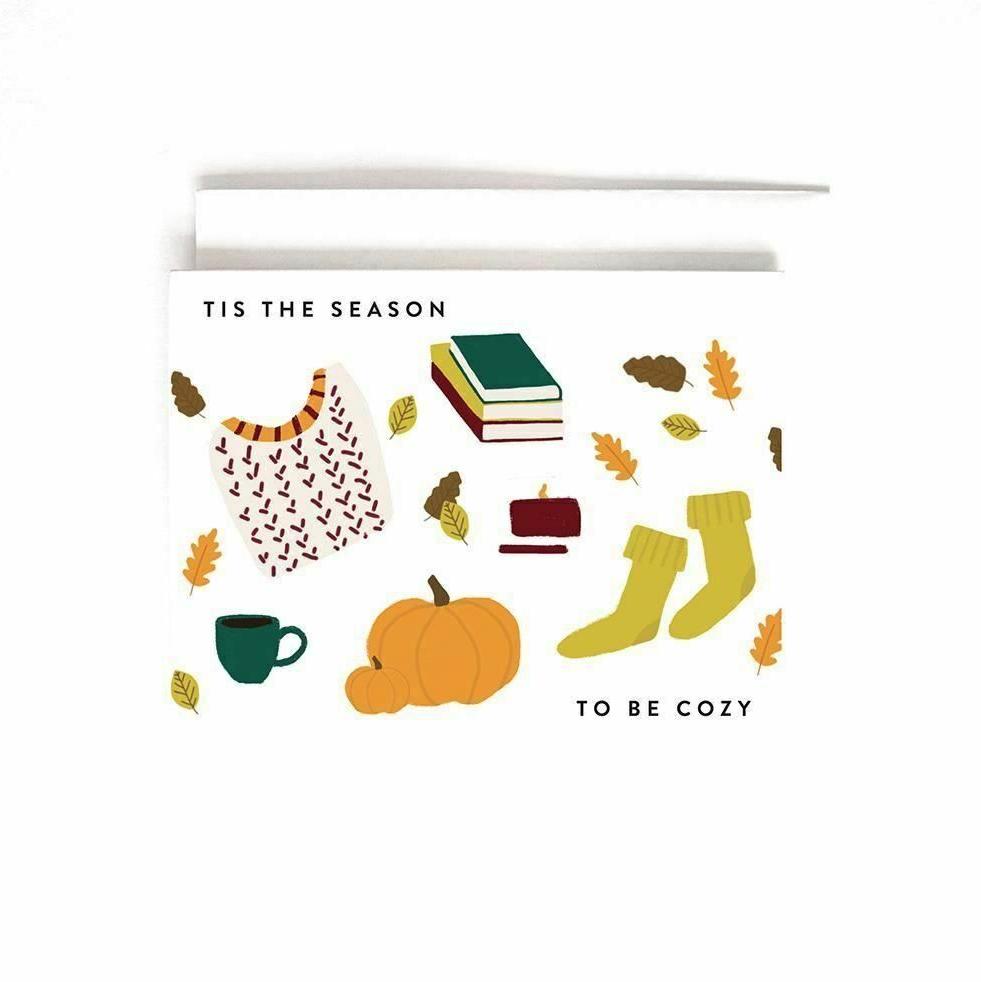 Joy Paper Co - JPC Cozy Season Fall Card