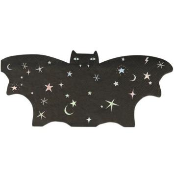 Meri Meri - MEM Sparkle Bat Napkins, Set of 16