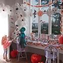 Meri Meri - MEM Pastel Halloween Stitched Streamer