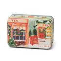 Paddywax - PA Christmas Tin Candle - Storefront Scene, Sweet Orange & Fir 5 oz.