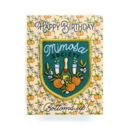 Antiquaria - AN Mimosa Birthday Card + Patch