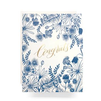 Antiquaria - AN Meadow Congrats Card