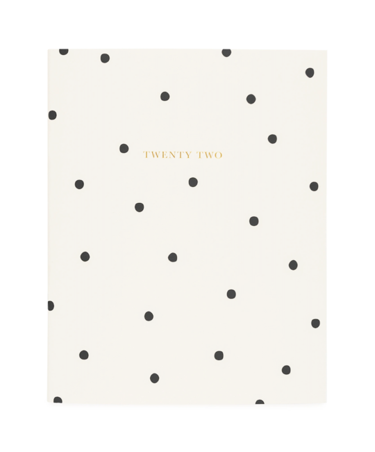 Sugar Paper - SUG 2022 Monthly Planner, Scatter Dot