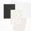 Sugar Paper - SUG 2022 Monthly Planner, Rose Linen Stripe