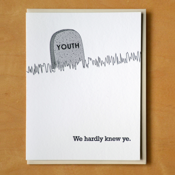 McBittersons - MCB RIP Youth Birthday Card