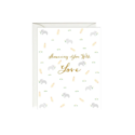 Paula & Waffle - PAW Elephant Showering You With Love Baby Shower Card