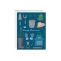 Paula & Waffle - PAW Gardening Retirement Card