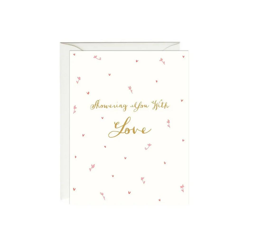 Paula & Waffle - PAW Showering You With Love Card
