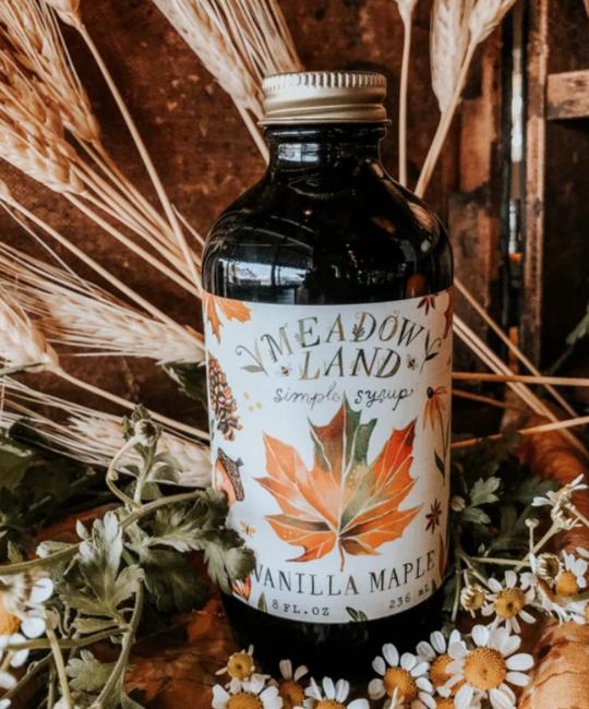 Meadowland - MEA Vanilla Maple Simple Syrup