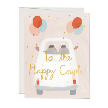 Red Cap Cards - RCC Away They Go Happy Couple Card
